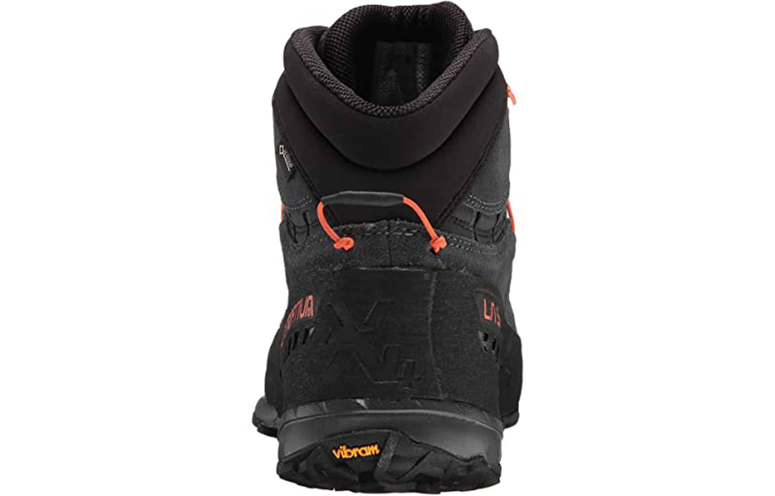 back view of a la sportiva tx4 mid gtx hiking boots