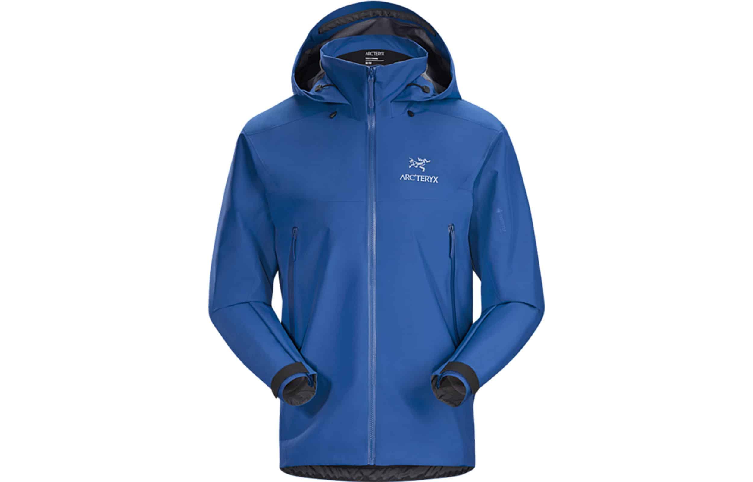 Arc'teryx Beta AR Jacket in colbalt blue