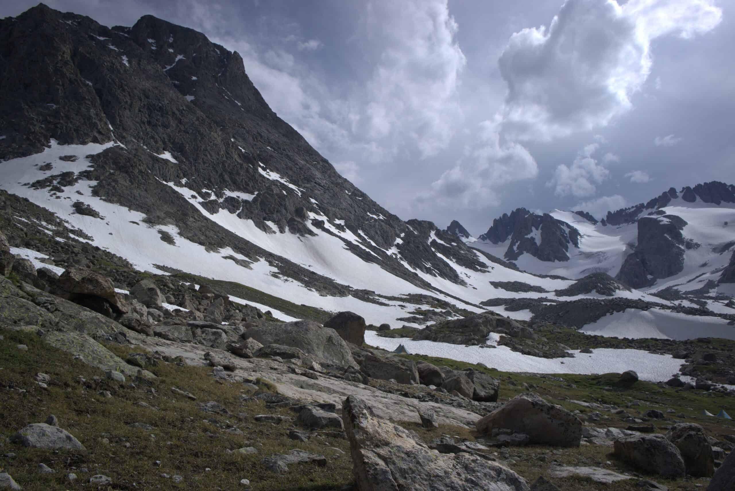 Mountains Wyoming Trail Glacier