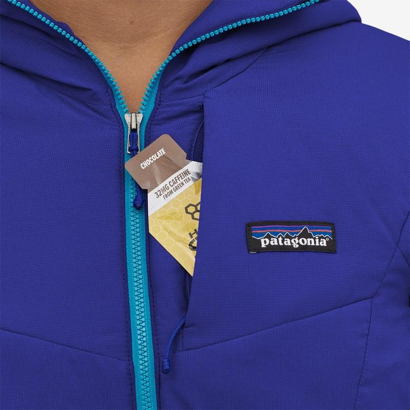 Patagonia hoody pocket blue