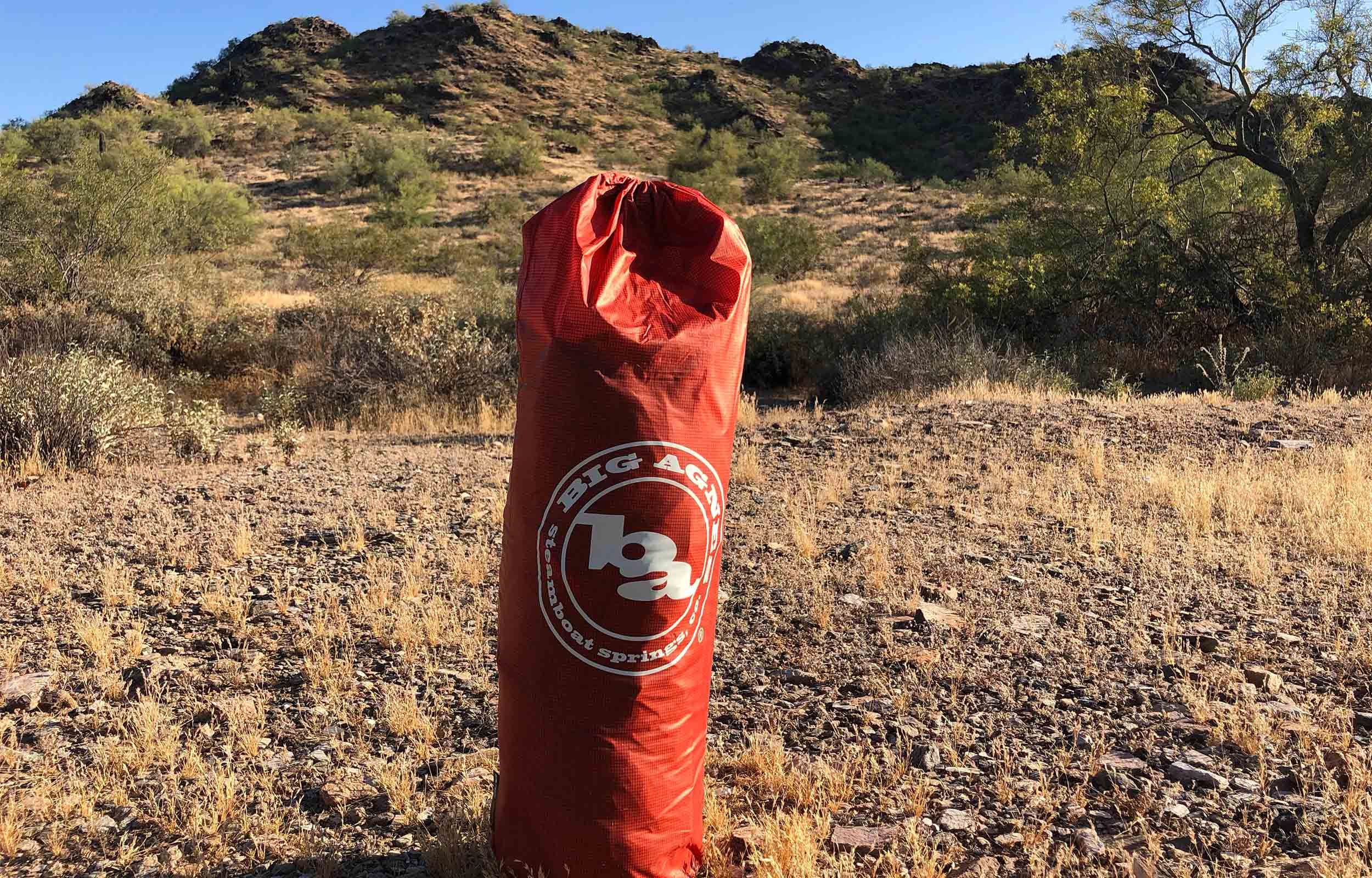 big agnes copper spur tent packed