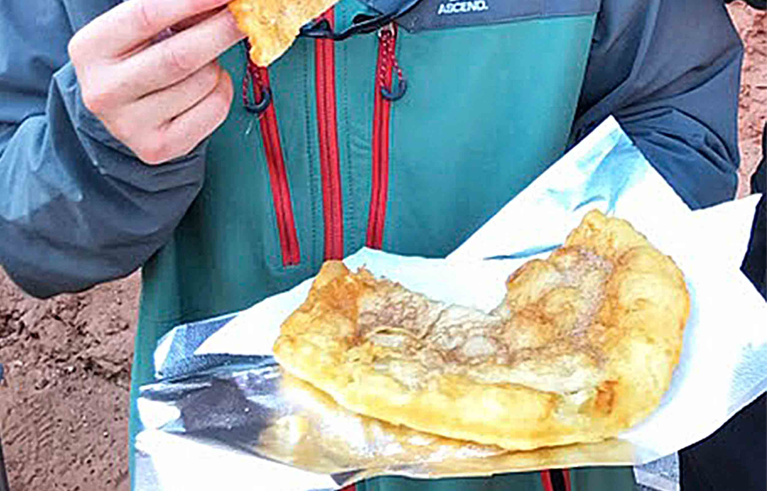 fry bread at the havasupai indian reservation