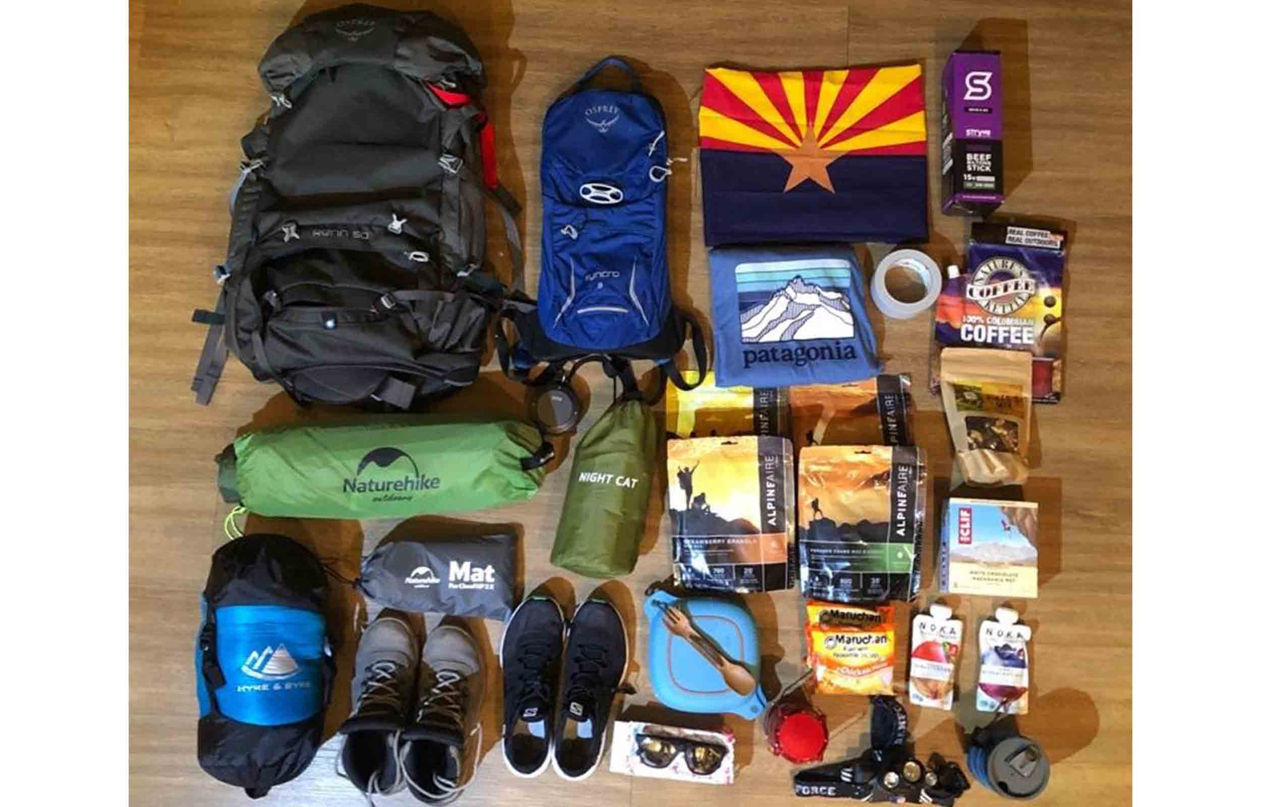 packing guide for havasupai trail