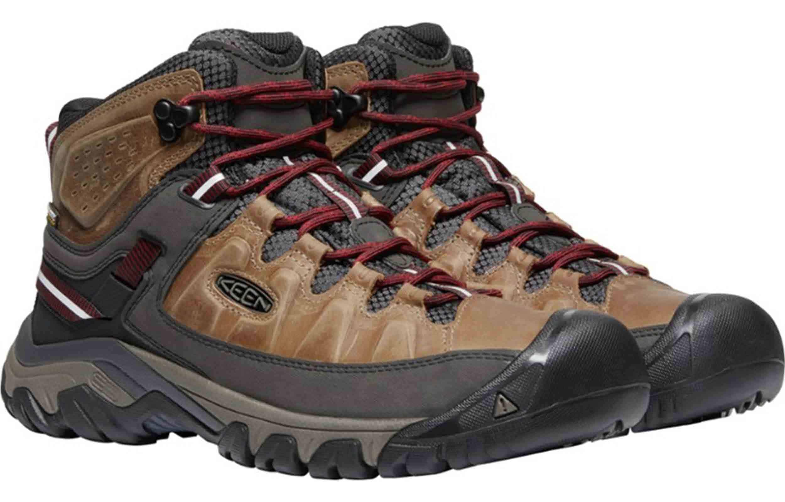 pair view of keen targhee iii boots