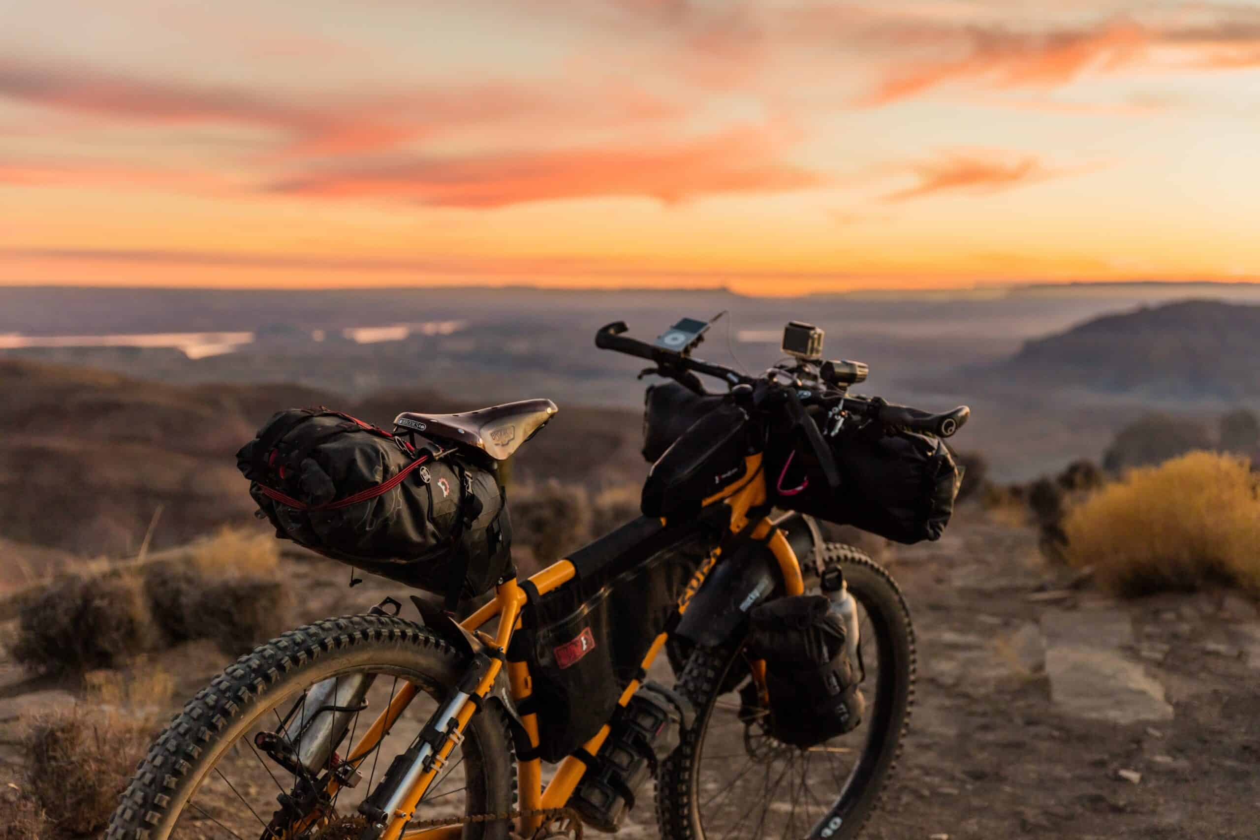mountain bike sunset gear