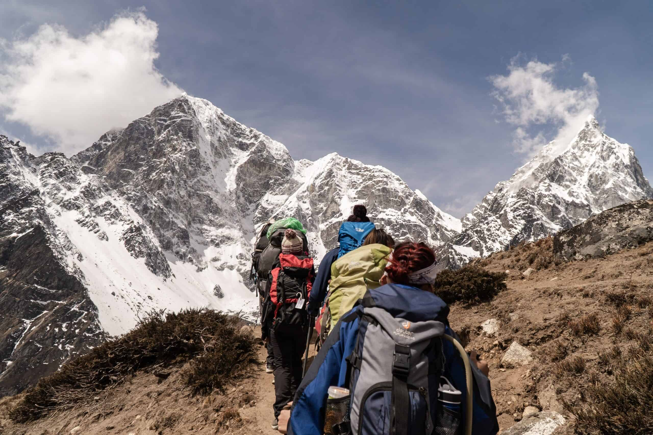 backpacking mountains