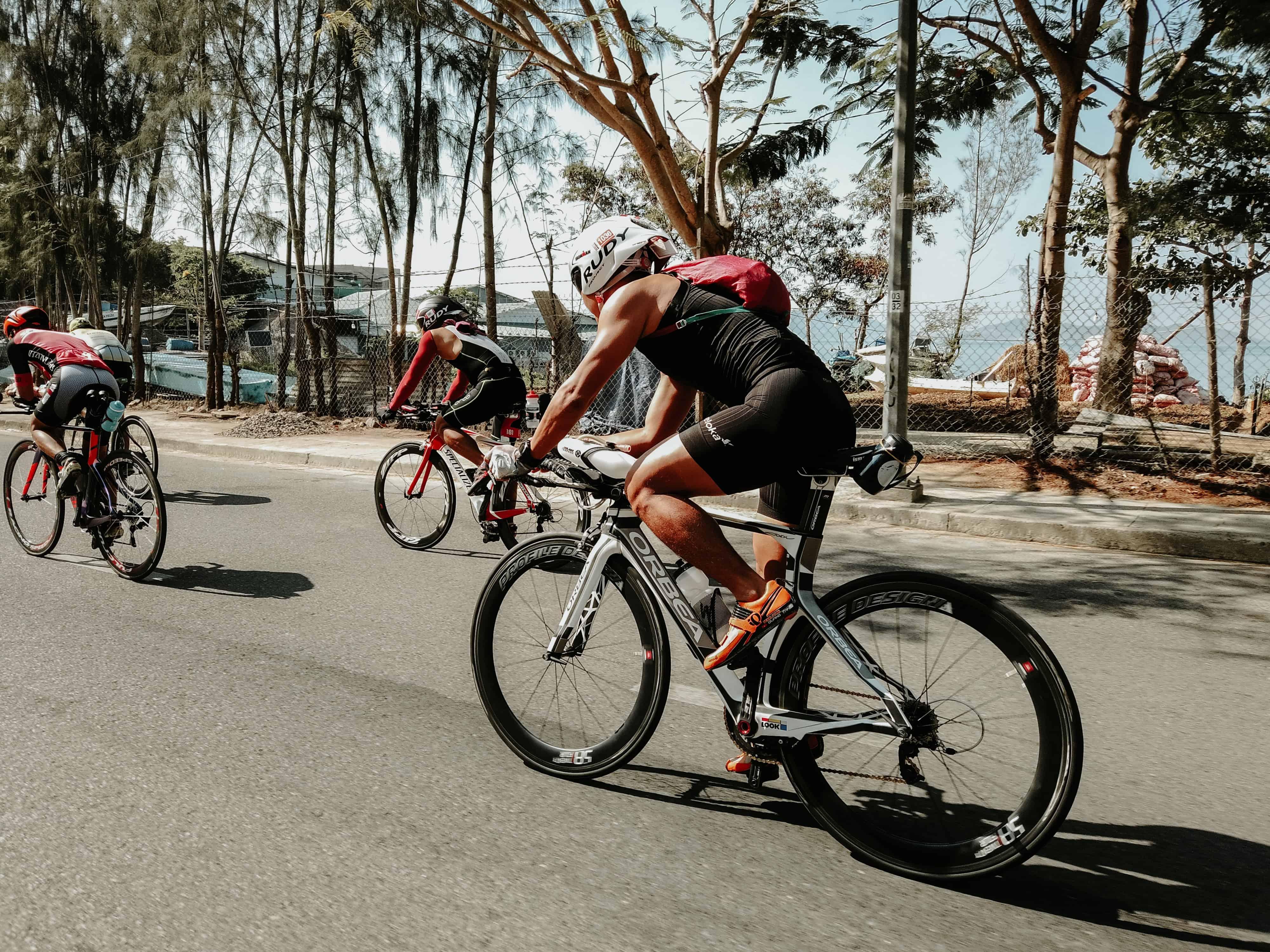 cycling race summer beach