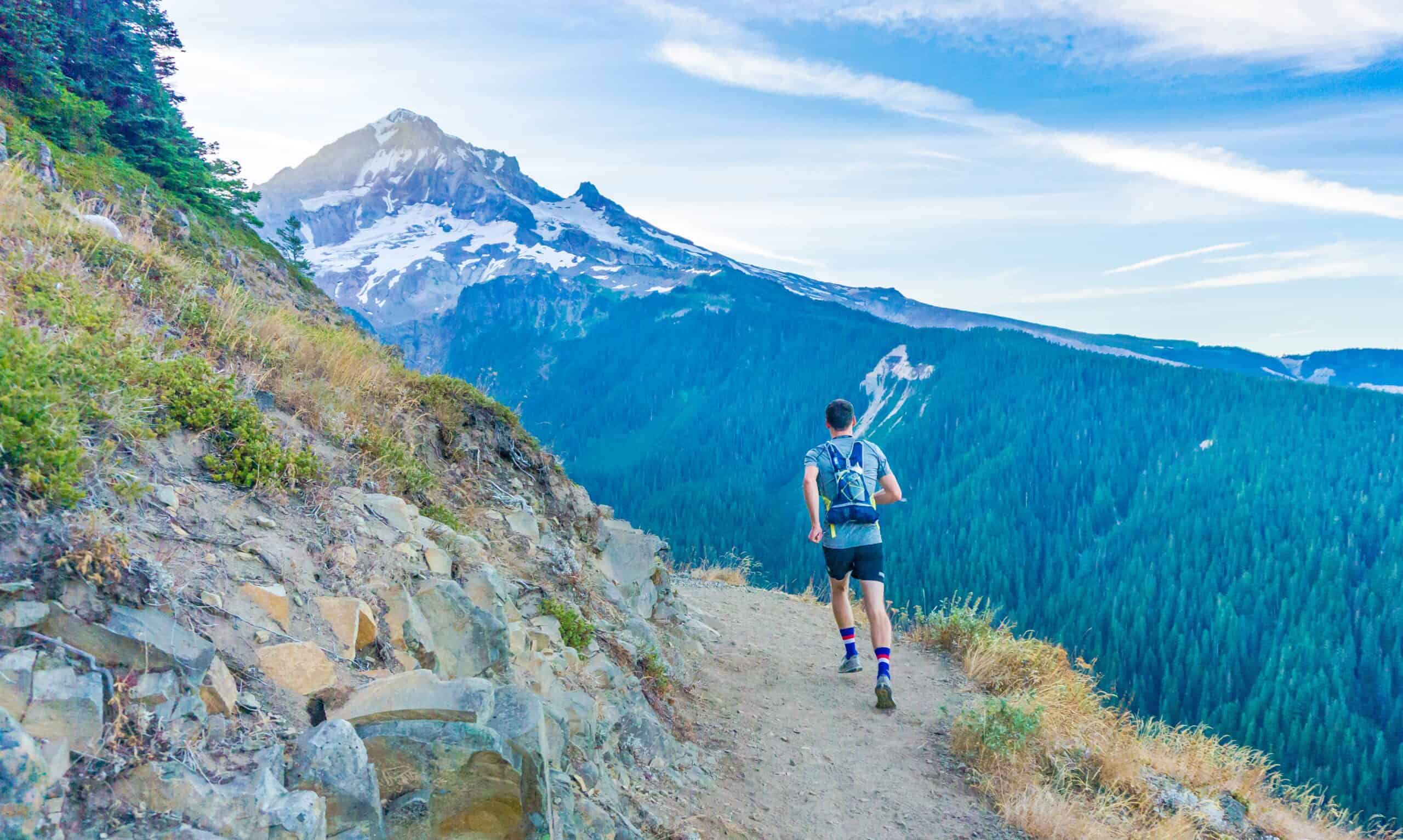 trail running mountain