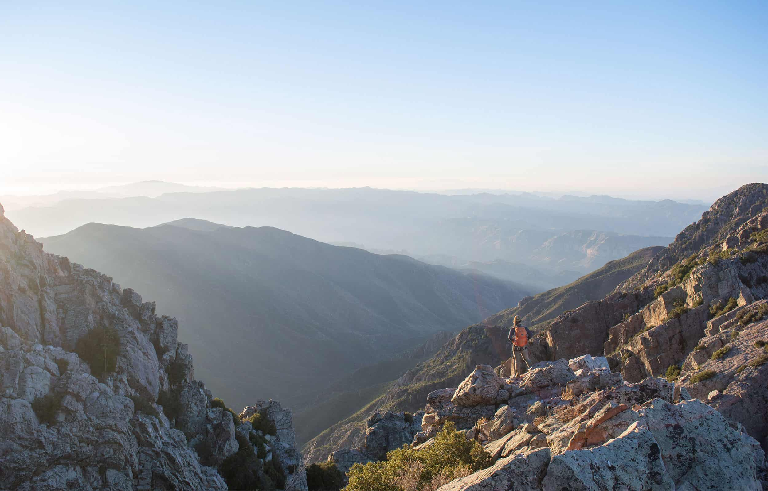 brown's peak trail view
