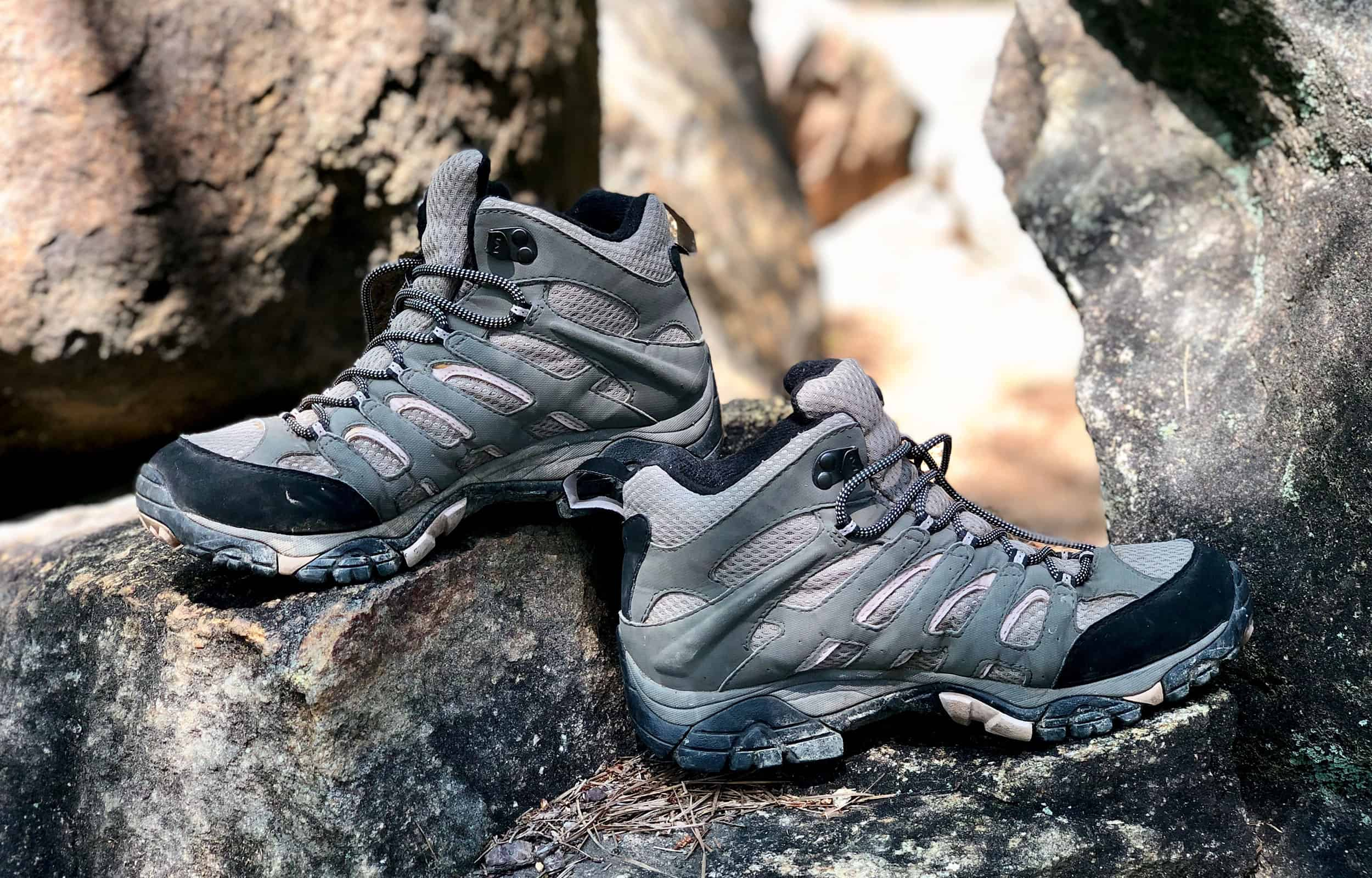 side views of merrell moab 2 shoes