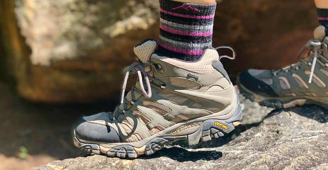 merrell moab 2 side view