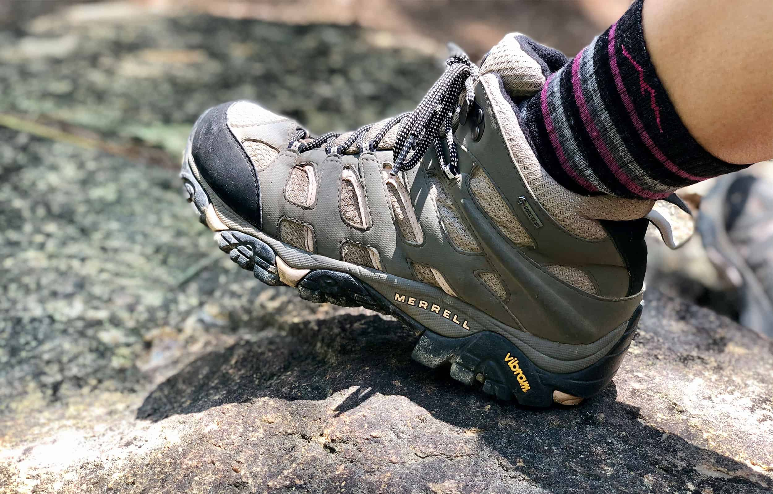 side view of merrell moab shoes