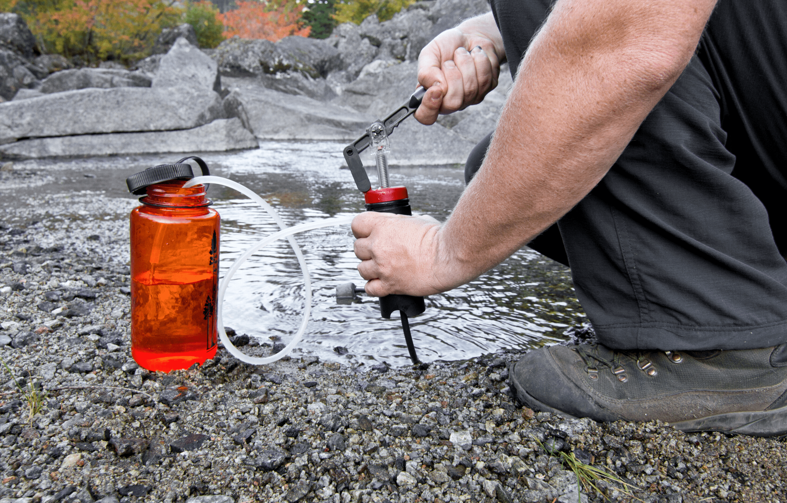 water purification while camping