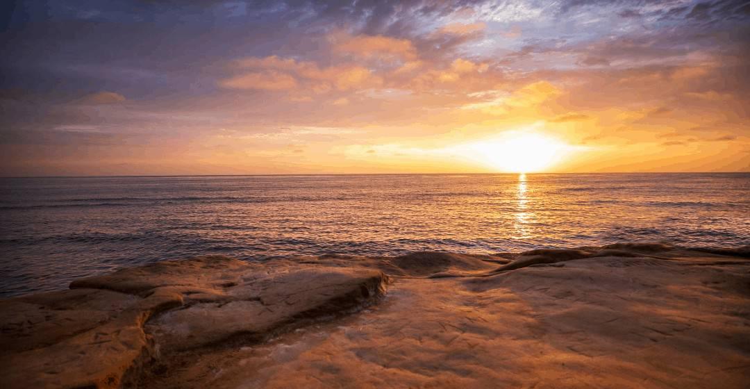 la jolla cove sunset snorkeling