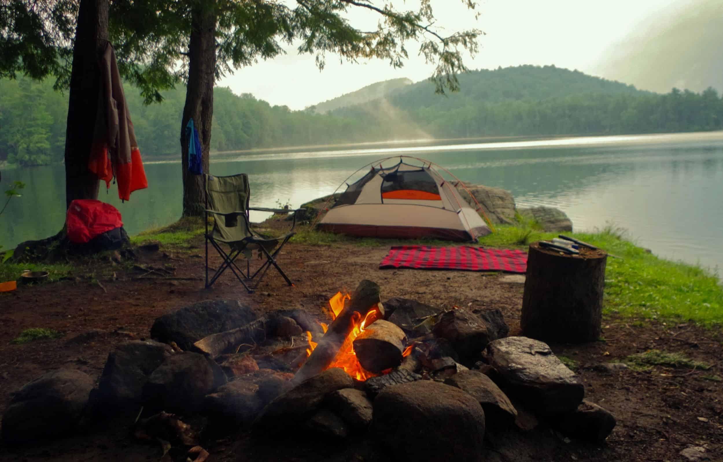 campsite car camping
