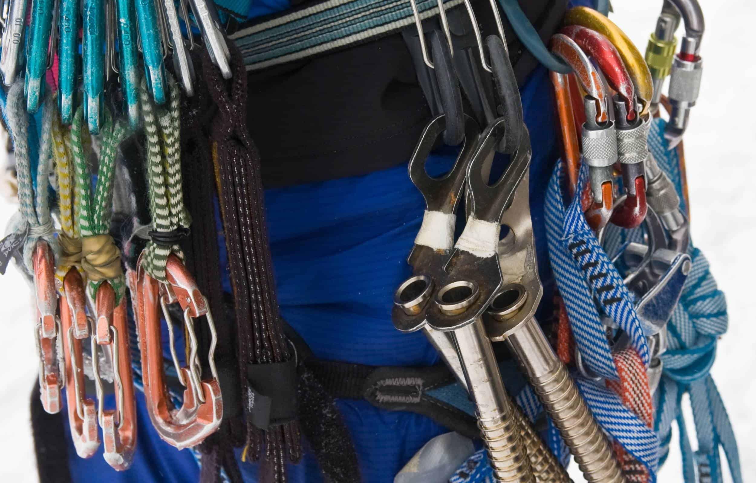 ice climbing rack