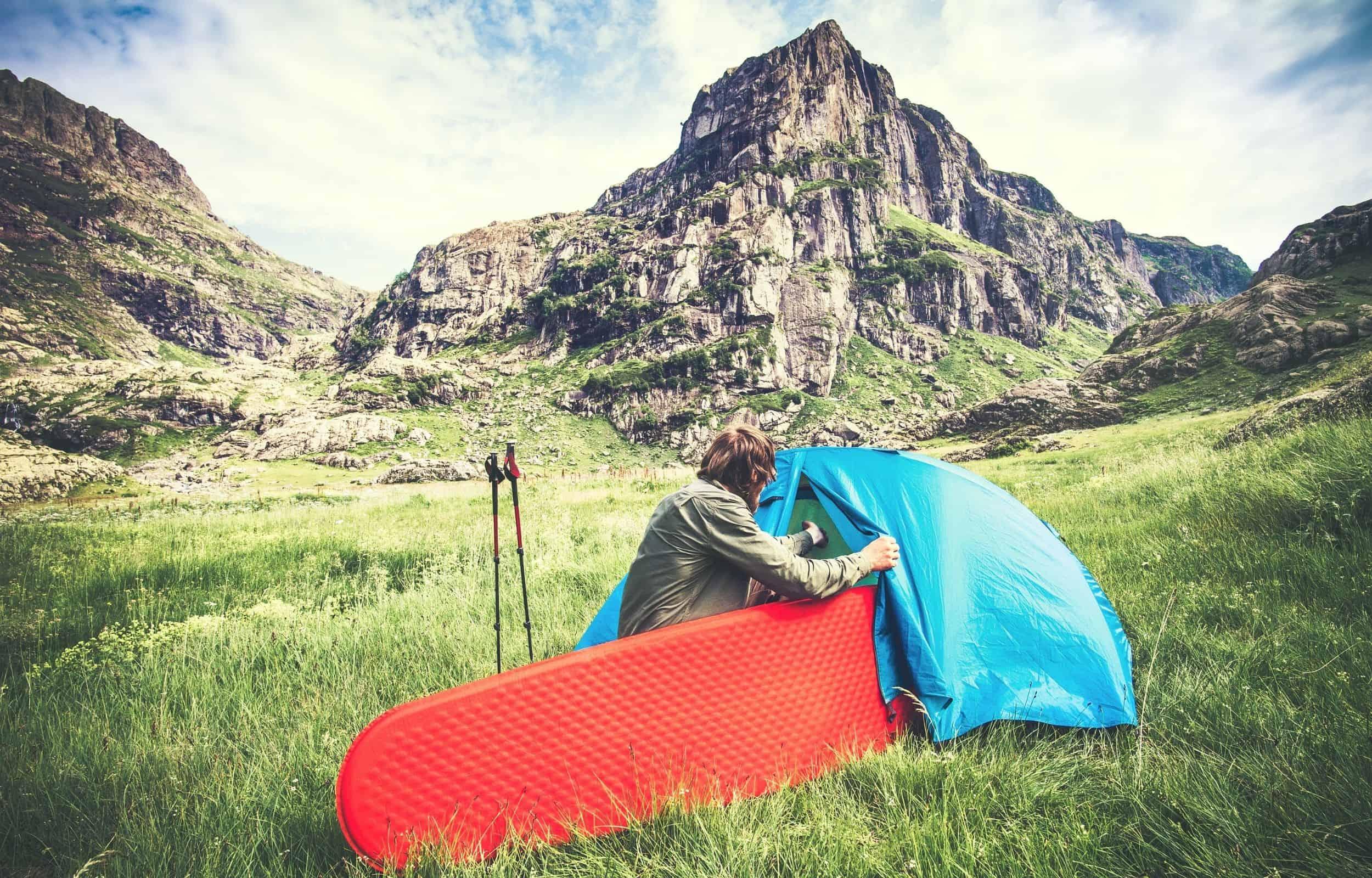 tent mattress foam camping