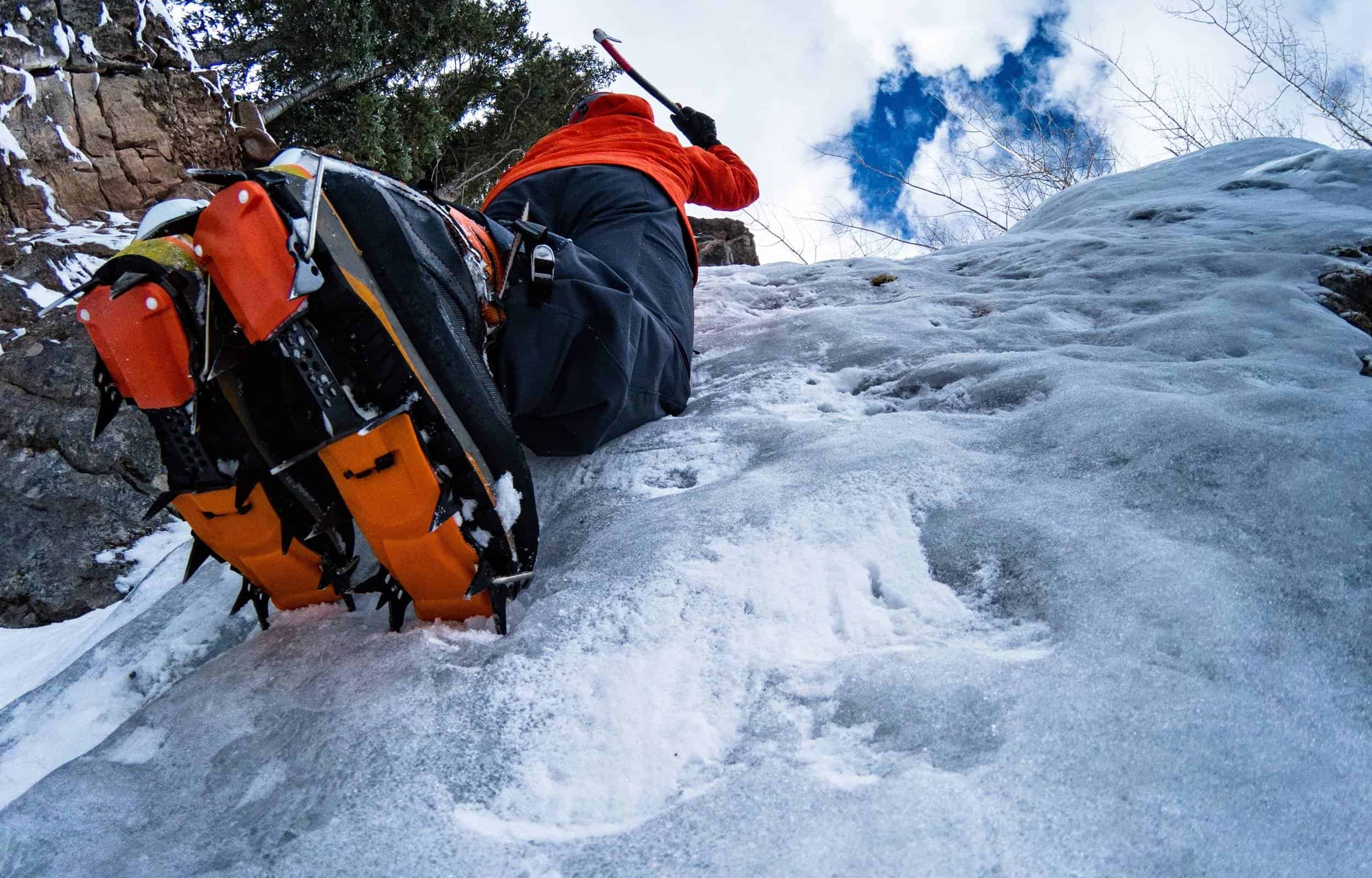 ice climbing boots crampons