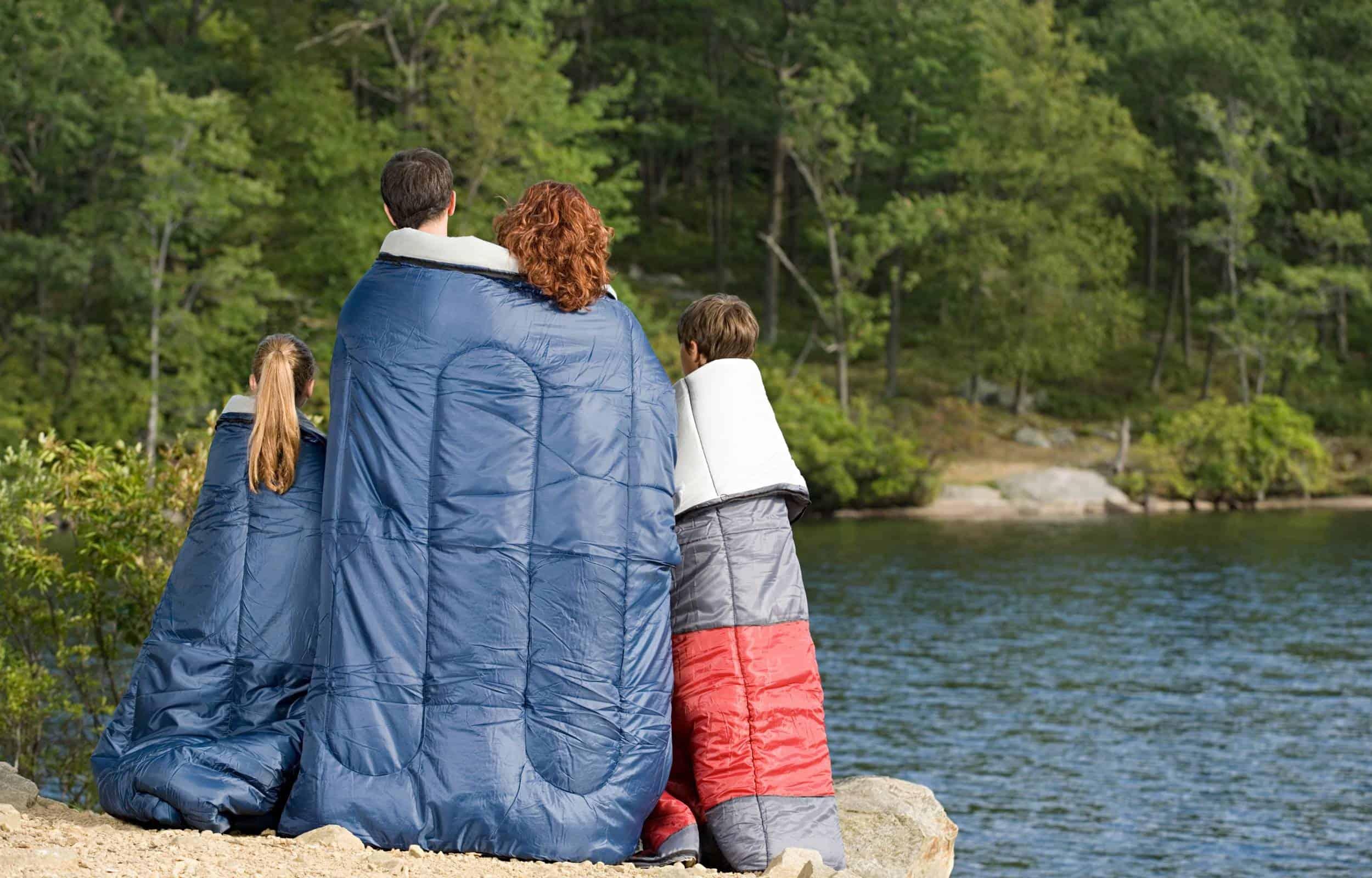 family camping sleeping bags