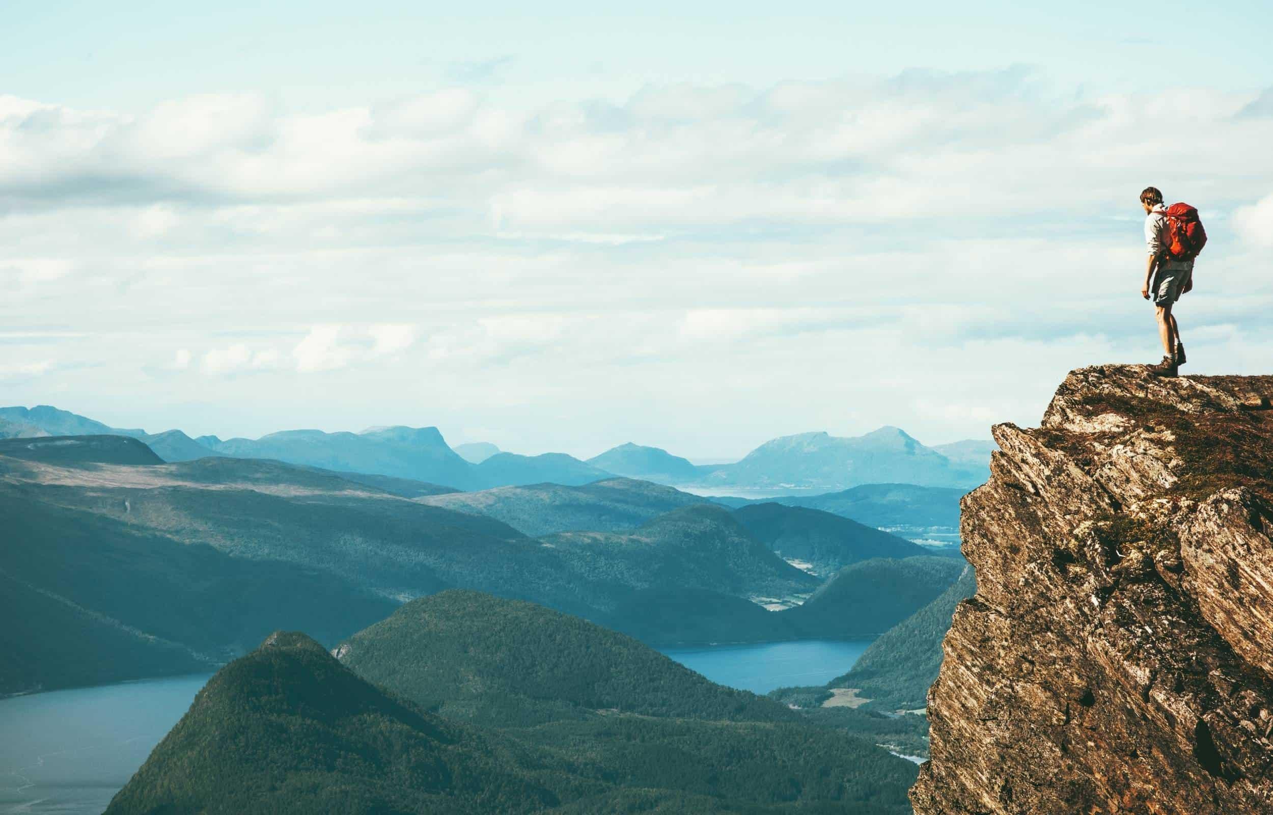 osprey backpack hiking mountain
