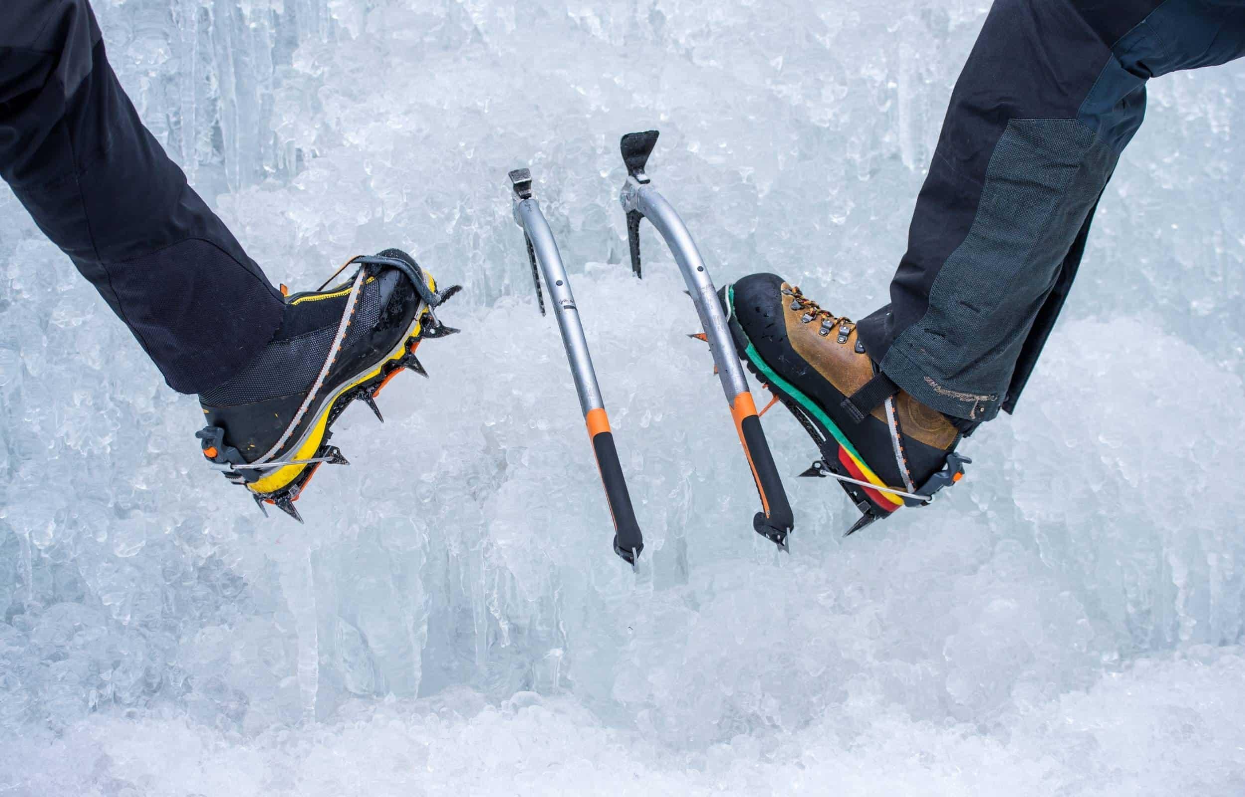 ice climbing gear boots